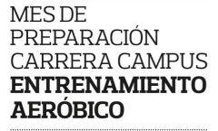 22 MARZO, PREPARACIÓN DE LA CARRERA CAMPUS UNIVERSIDAD DE LA RIOJA