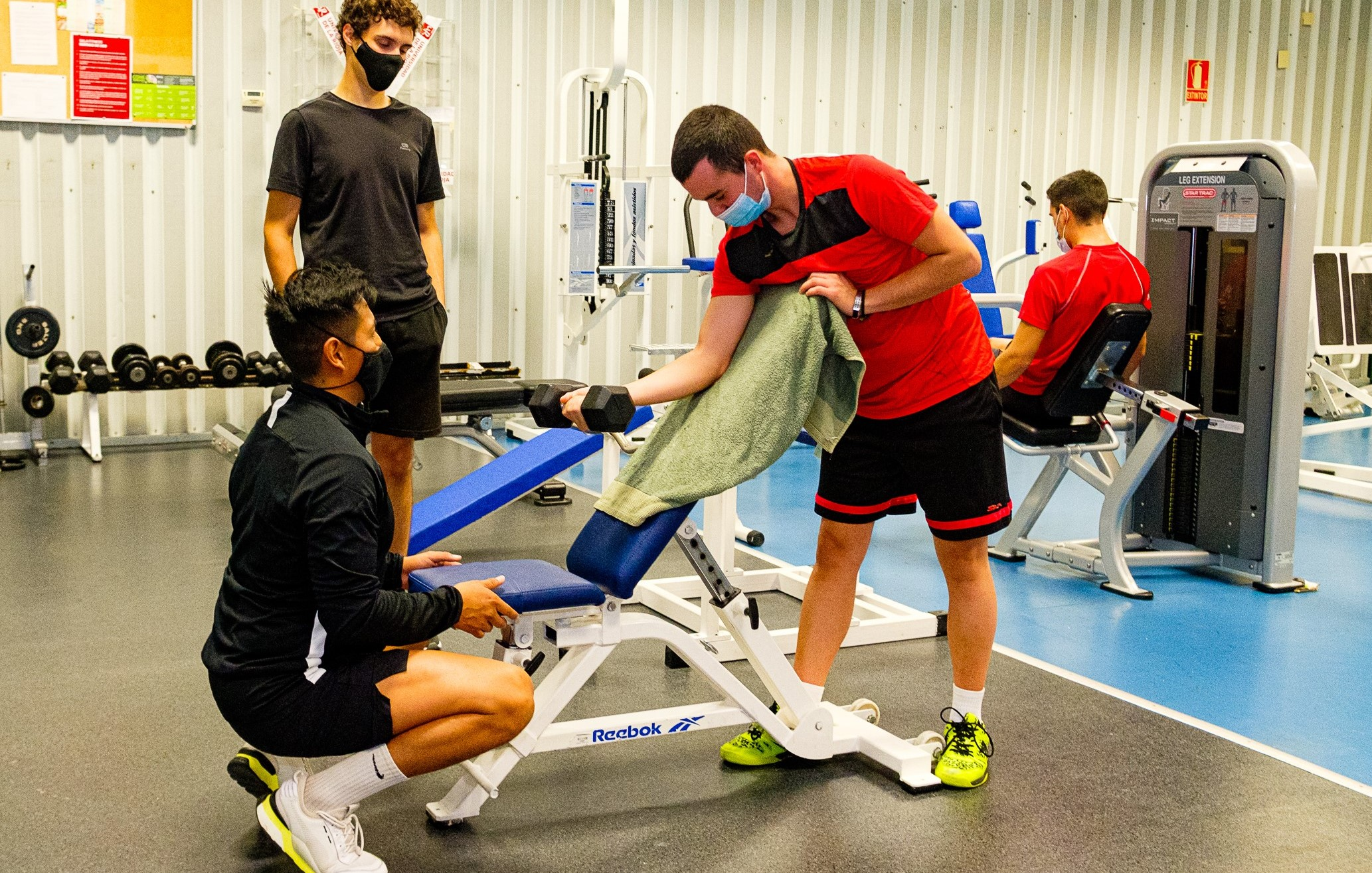 Reserva tus horas de uso en las salas Fitness y Cardio