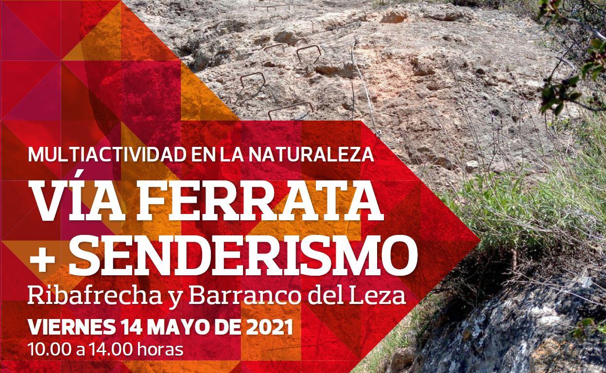 14 mayo: Multiactividad en la Naturaleza; Vía ferrata + senderismo