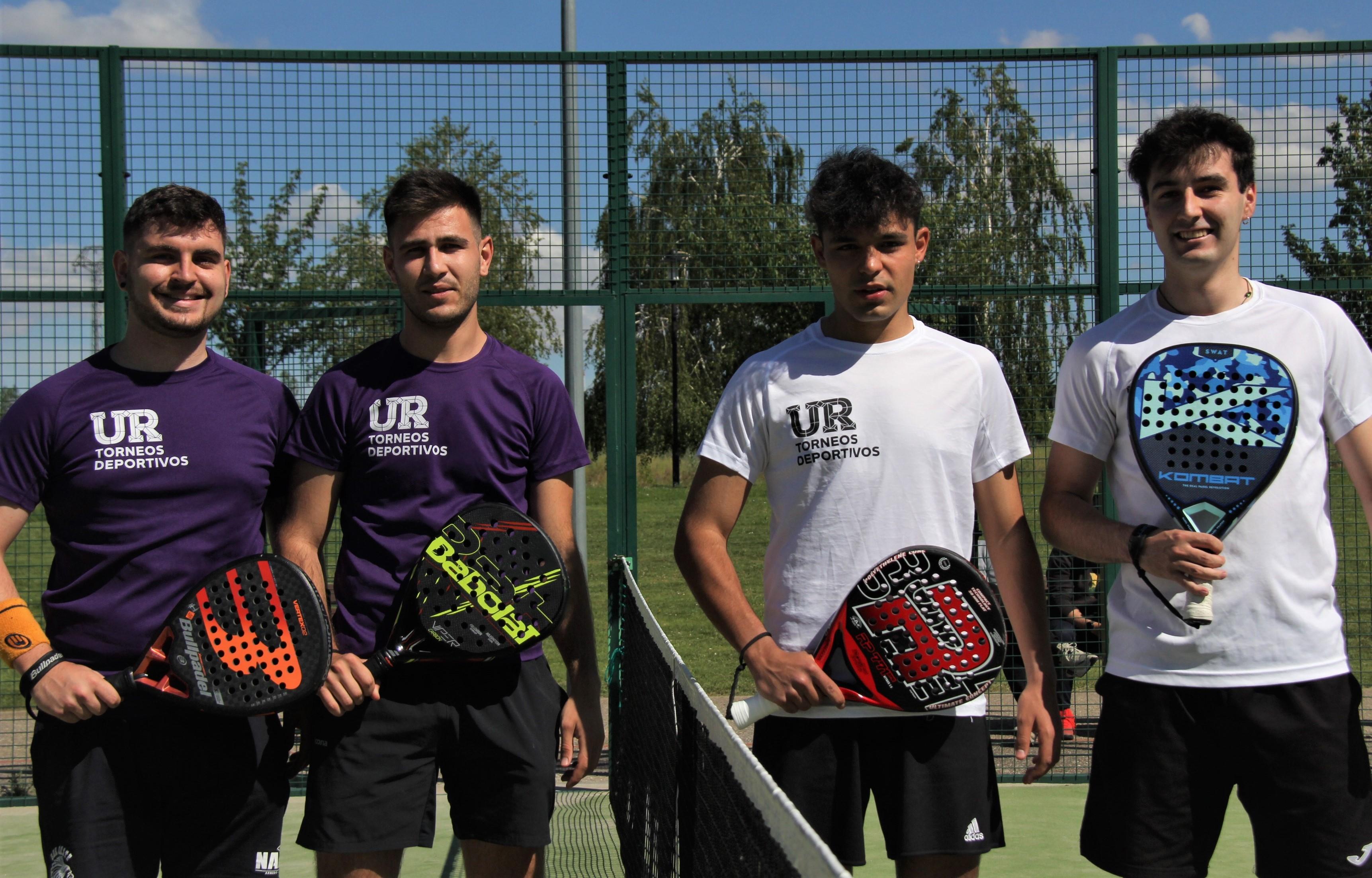 Álvar Gómez y Sergio Martínez se imponen en el Torneo UR de Pádel