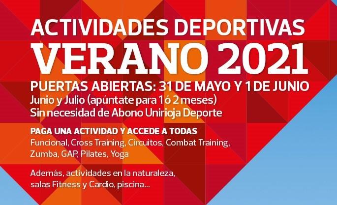 Junio y julio | Programa de actividades Verano 2021