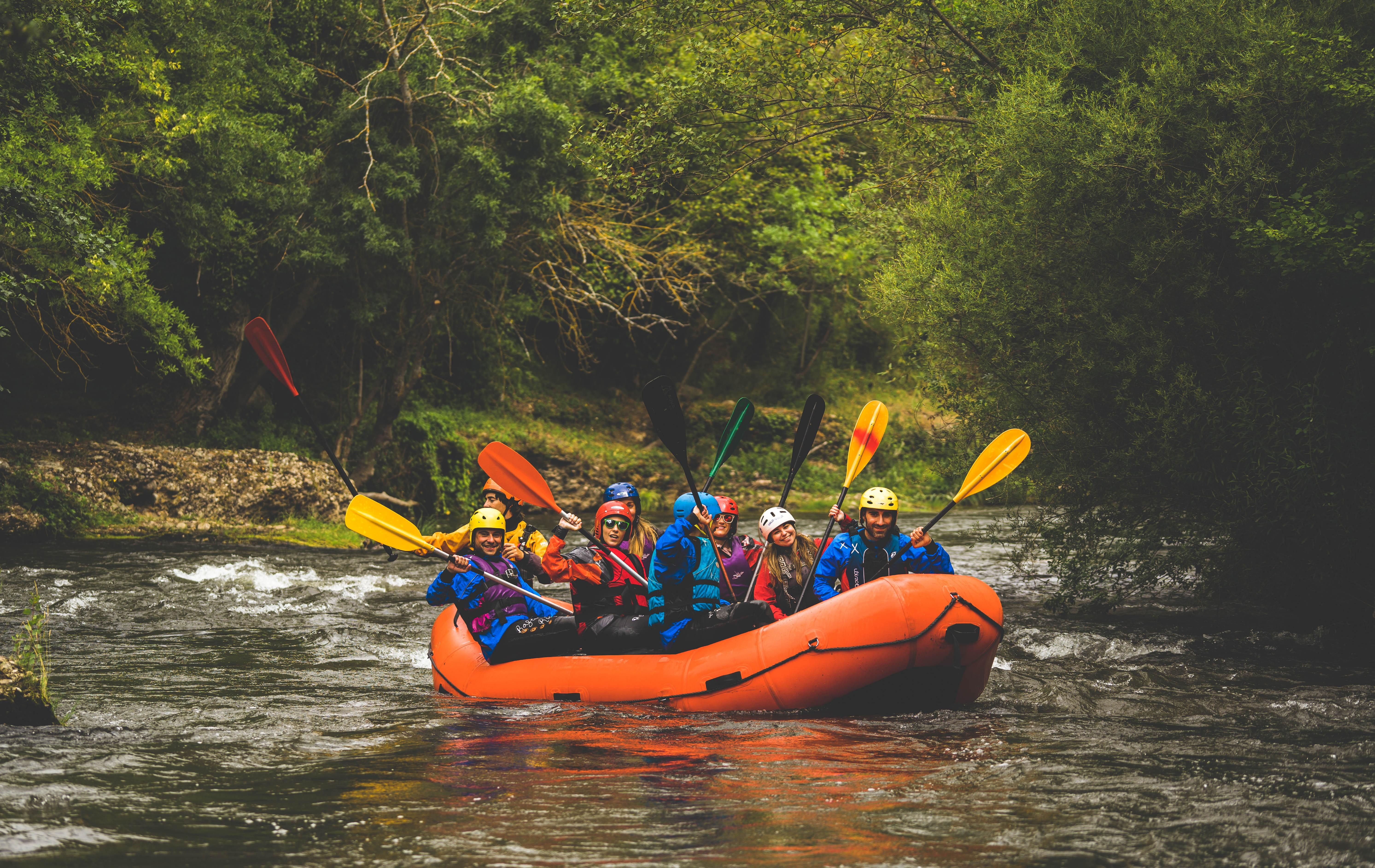 27 julio   Rafting en el río Iregua