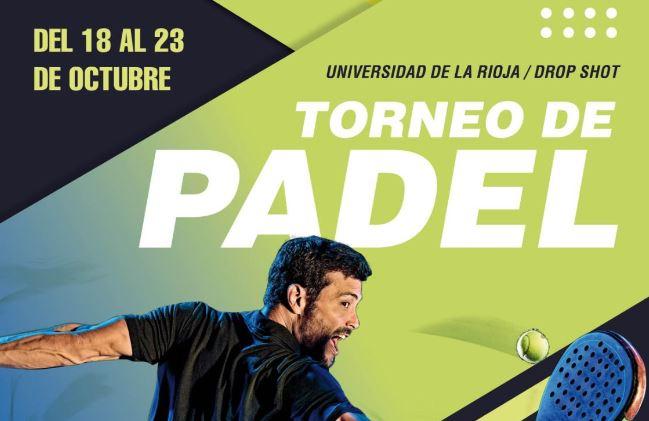 18 a 23 octubre | Torneo de Pádel UR / Drop Shot