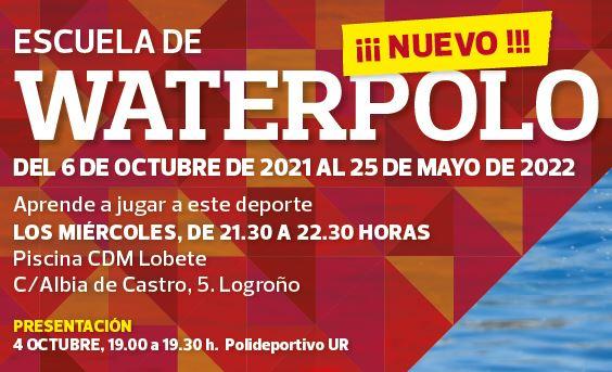 4 octubre | Presentación Escuela de Waterpolo UR [NUEVO]