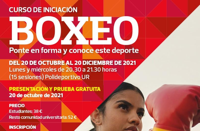 20 octubre a 20 diciembre | Curso de Boxeo